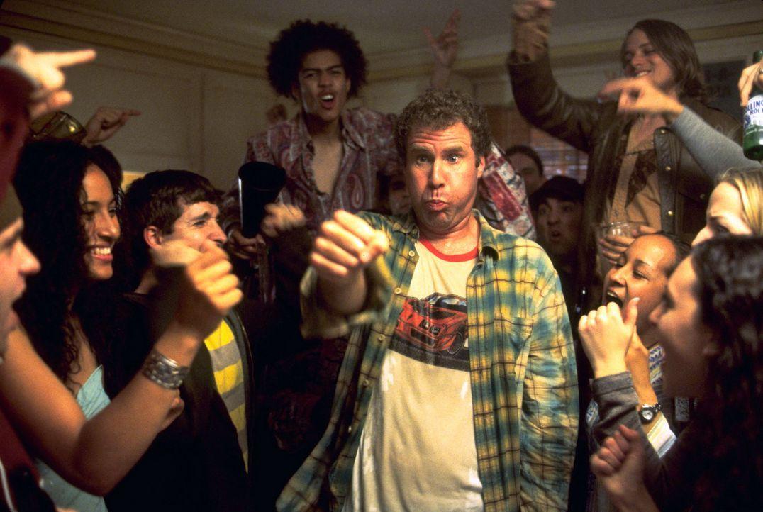 Feiern bis zum Umfallen: Frank (Will Ferrell, M.) ... - Bildquelle: DreamWorks SKG