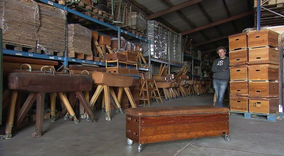 Alte Turngeräte werden zu neuen Möbeln