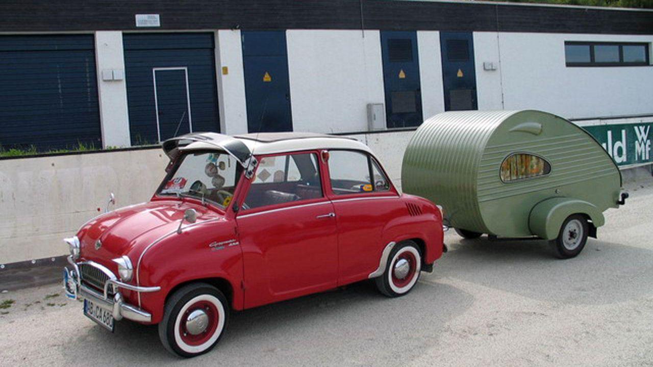 Der Kleinstwagen der Hans Glas GmbH: das Goggomobil - Bildquelle: Uwe Staufenberg