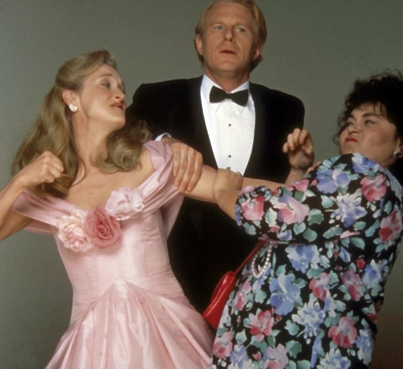 Ein Mann zwischen zwei Frauen: Bob (Ed Begley, Jr., M.) muss sich zwischen seiner dicklichen Frau  (Roseanne Barr, r.) und der attraktiven Schriftst... - Bildquelle: 20th Century Fox