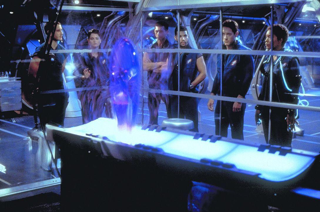 Die Crew (v.l.n.r.: Karl Larson (Peter Facinelli), Danika Lund (Robin Tunney), A.J. Marley (Robert Forster), Benj Sotomejor (Wilson Cruz), Nick Vanz... - Bildquelle: Metro-Goldwyn-Mayer