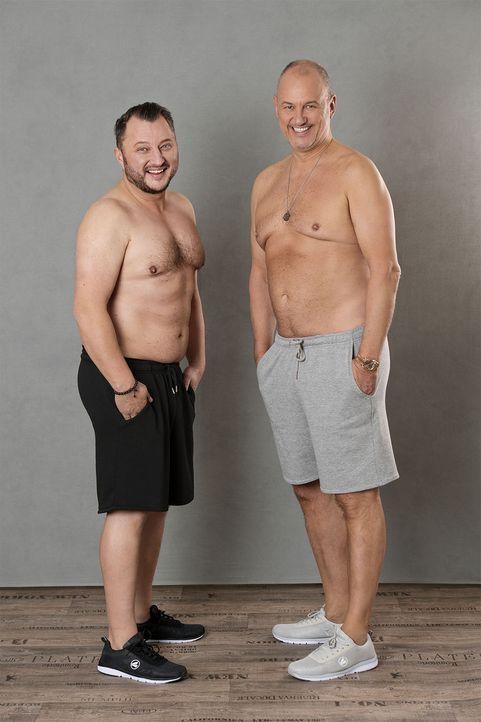 2_Frank und Sebastian nachher - Bildquelle: Willi Weber, kabel eins