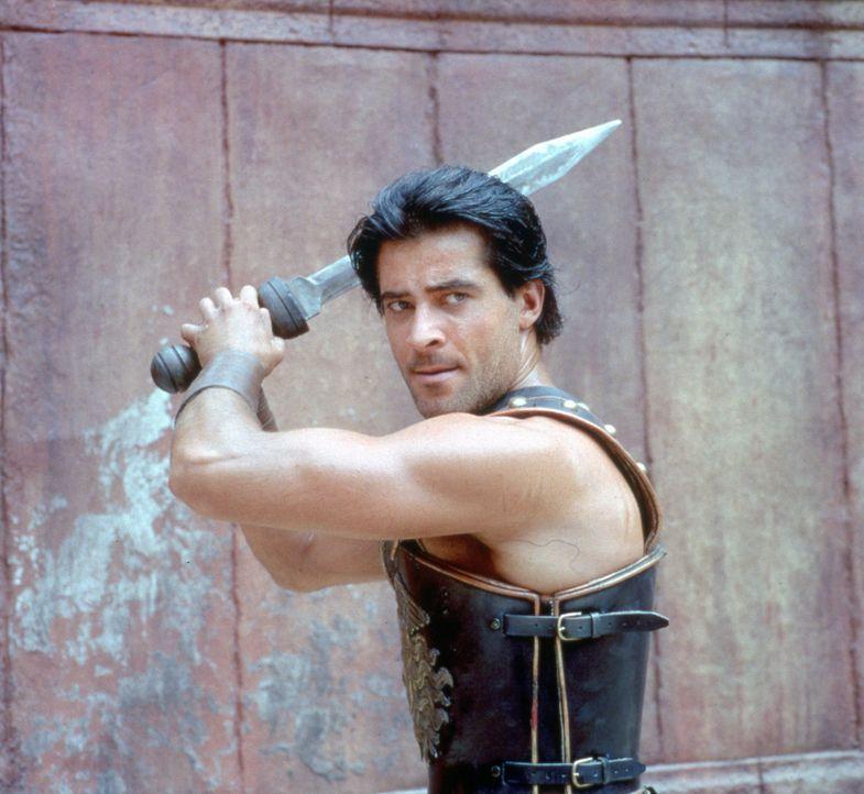 Unter der Führung von Spartacus (Goran Visnjic) erringen die aufständischen Sklaven einen Sieg nach dem anderen. Schließlich stellt der römische... - Bildquelle: USA Network Pictures