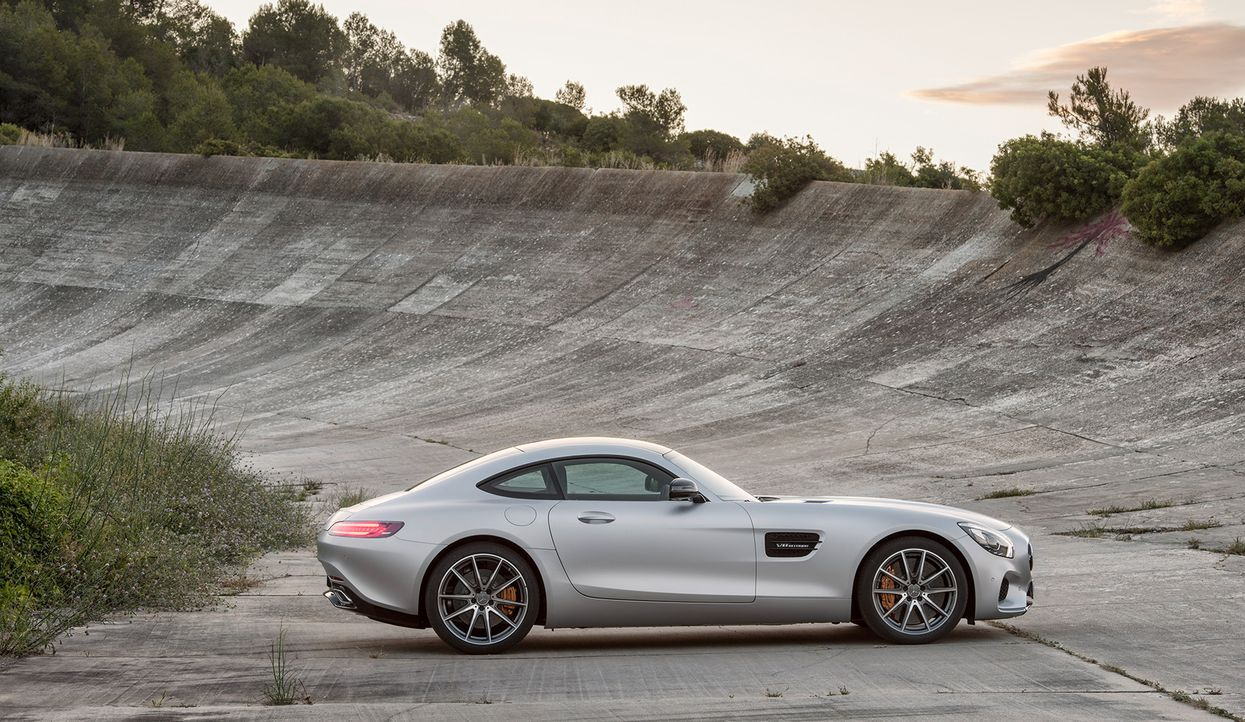Mercedes AMG GT (7) - Bildquelle: press photo, do not use for advertising purposes