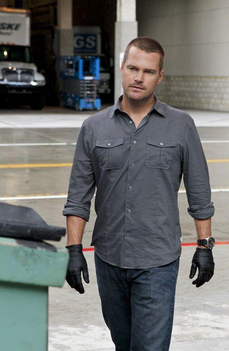 Ermittelt in einem neuen Fall: Callen (Chris O'Donnell) ... - Bildquelle: CBS Studios Inc. All Rights Reserved.