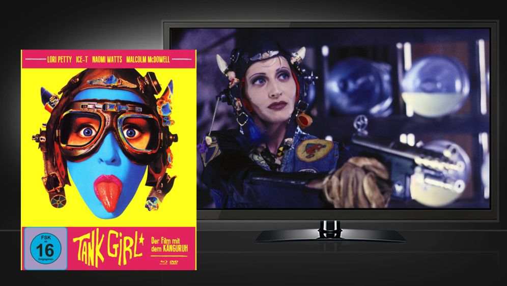 Tank Girl (Blu-ray Disc) - Bildquelle: koch films