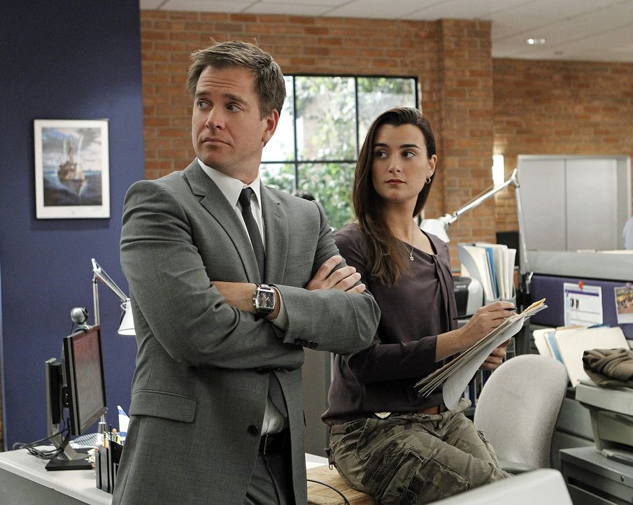 Ein neuer Auftrag wartet auf Ziva (Cote de Pablo, r.) und Tony (Michael Weatherly, l.) ... - Bildquelle: CBS Television