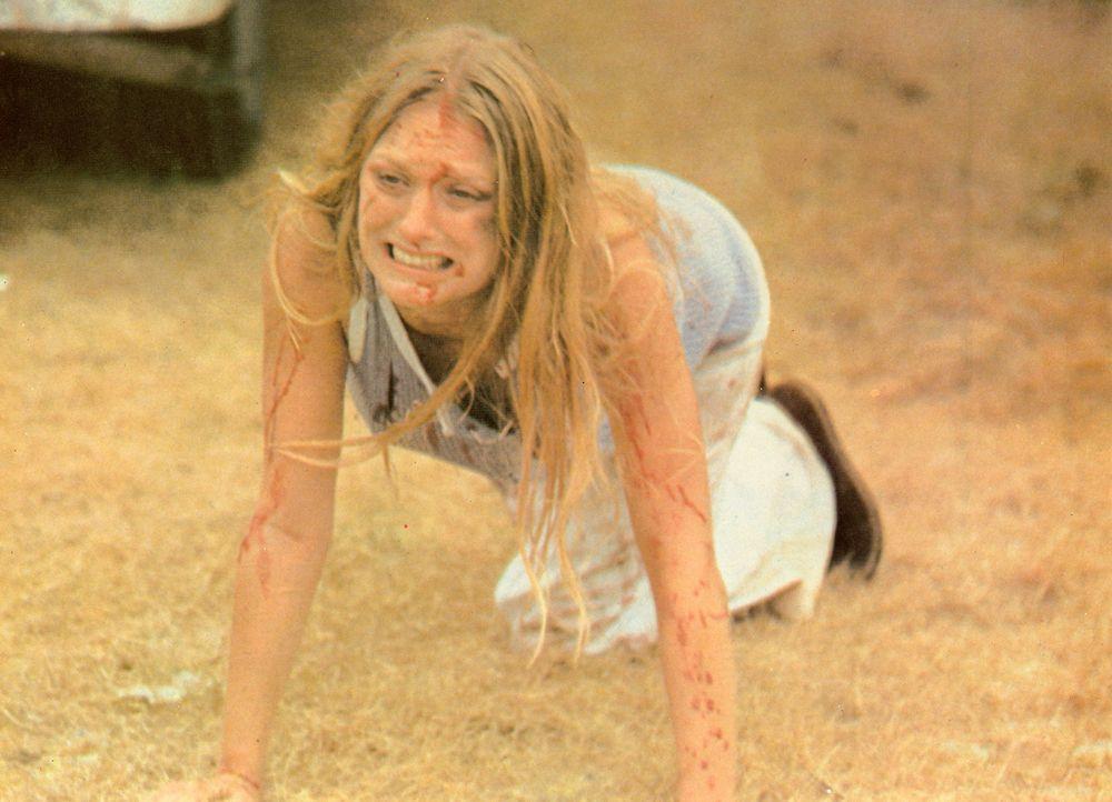 Eigentlich wollten Sally (Marilyn Burns) und ihr Bruder Franklyn nur das Haus ihrer Großeltern suchen, nicht ahnend, was sie im ländlichen Texas tat...