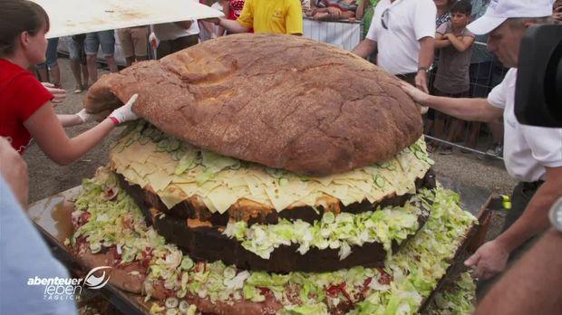 Der Größte Hamburger Der Welt