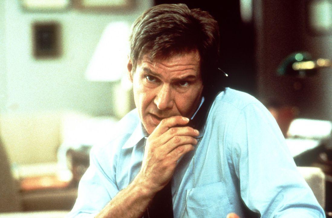 CIA-Agent Jack Ryan (Harrison Ford) wird mit einem hochbrisanten Fall beauftragt: Er soll den Mord an einen amerikanischen Geschäftsmann aufklären... - Bildquelle: Paramount Pictures
