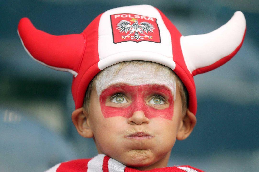 Fußball-Fan-Polen-150904-dpa - Bildquelle: dpa