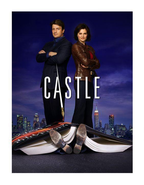 (1. Staffel) - Der erfolgsverwöhnte Krimiautor Richard Castle (Nathan Fillion, l.) packt die Chance, als sich für ihn eine Tür in die reale Welt der... - Bildquelle: ABC Studios