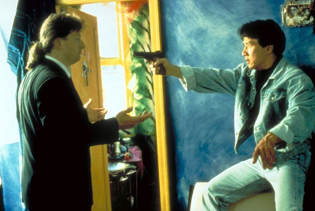 Lässt sich niemals unterkriegen: Ah Keung (Jackie Chan, r.) ... - Bildquelle: New Line Cinema