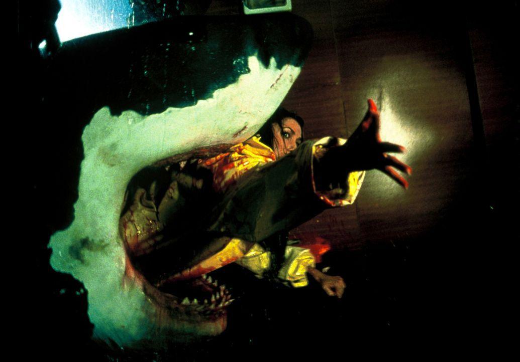 Kommt einem Hai zu nahe: Carrie (Brandi Sherwood) ... - Bildquelle: Nu Image