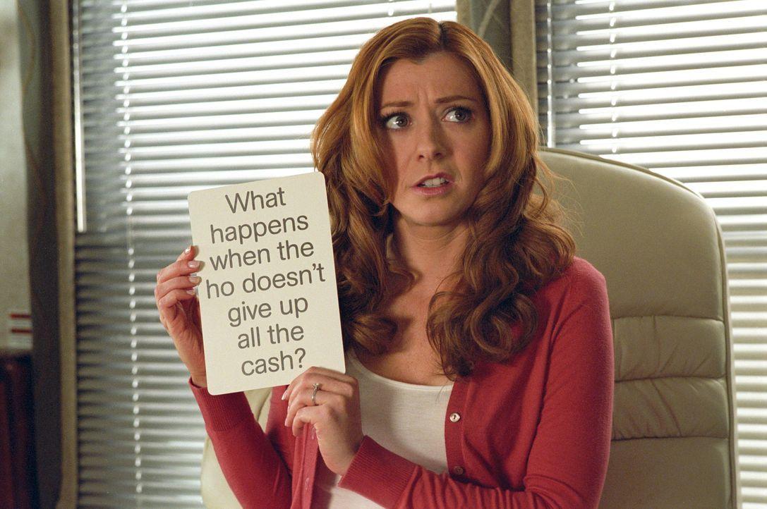 Flirtprofi Hitch weiß was bei Männern ankommt: Er unterzieht Julia (Alyson Hannigan) erstmal einem Test. - Bildquelle: Epsilon Motion Pictures
