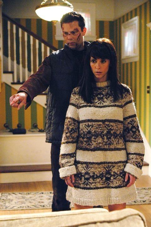 Kann Melinda Gordon (Jennifer Love Hewitt, r.) dem Geist von Dennis Mcloughlin (Matt Keeslar, l.) helfen? - Bildquelle: ABC Studios