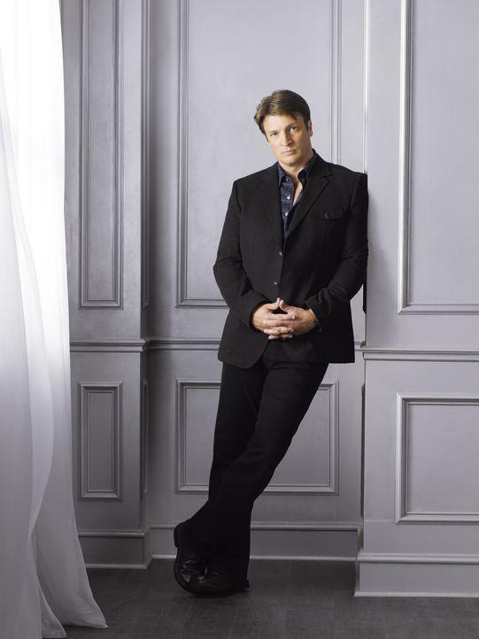 (4. Staffel) - Wenn Richard Castle (Nathan Fillion) sich etwas in den Kopf gesetzt hat, ist es sehr schwer ihn davon abzubringen ... - Bildquelle: ABC Studios