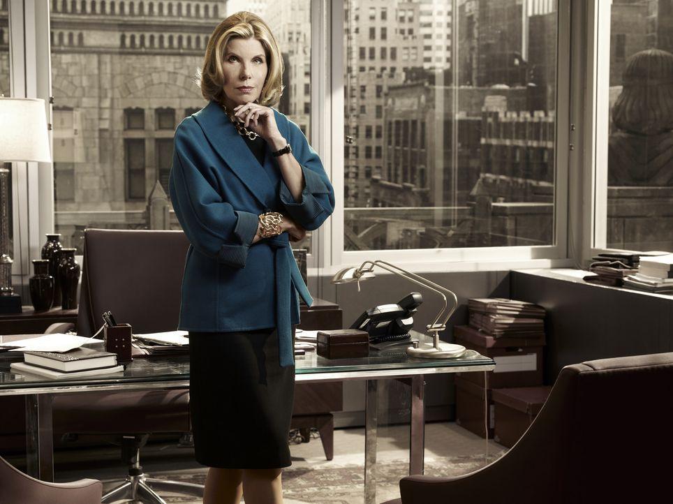 (2. Staffel) - Diane Lockhart (Christine Baranski) ist die beste Prozessanwältin der Chicagoer Anwaltsfirma  ... - Bildquelle: CBS Broadcasting Inc. All Rights Reserved