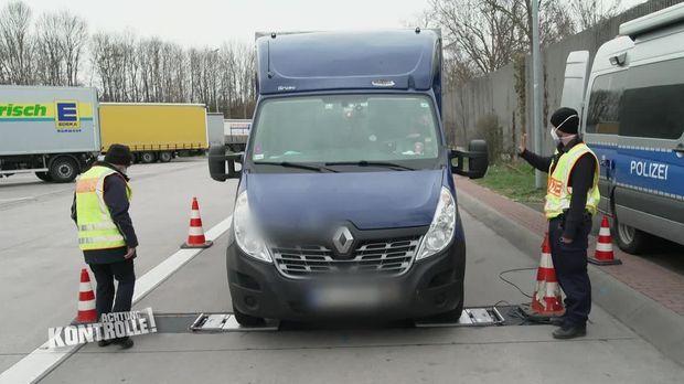 Achtung Kontrolle - Achtung Kontrolle! - Thema U.a.: überladener Kleintransporter Aus Polen - Polizei Mainz