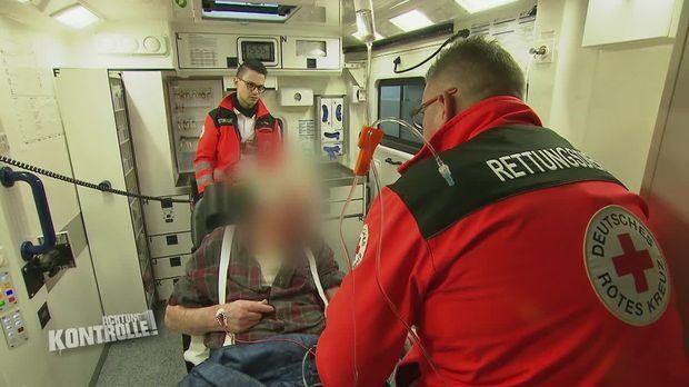 Achtung Kontrolle - Achtung Kontrolle! - Thema U.a.: Rotes Kreuz Vermutet Einen Schlaganfall - Jede Sekunde Zählt!