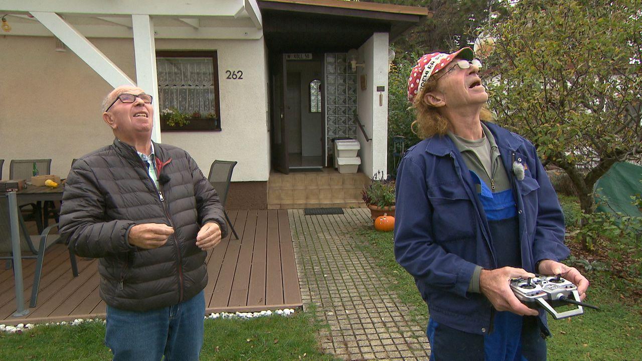 Auch in Folge 3 geht es um die Gartensiedlung Neugebäude: Wiggerl entdeckt s... - Bildquelle: ATV