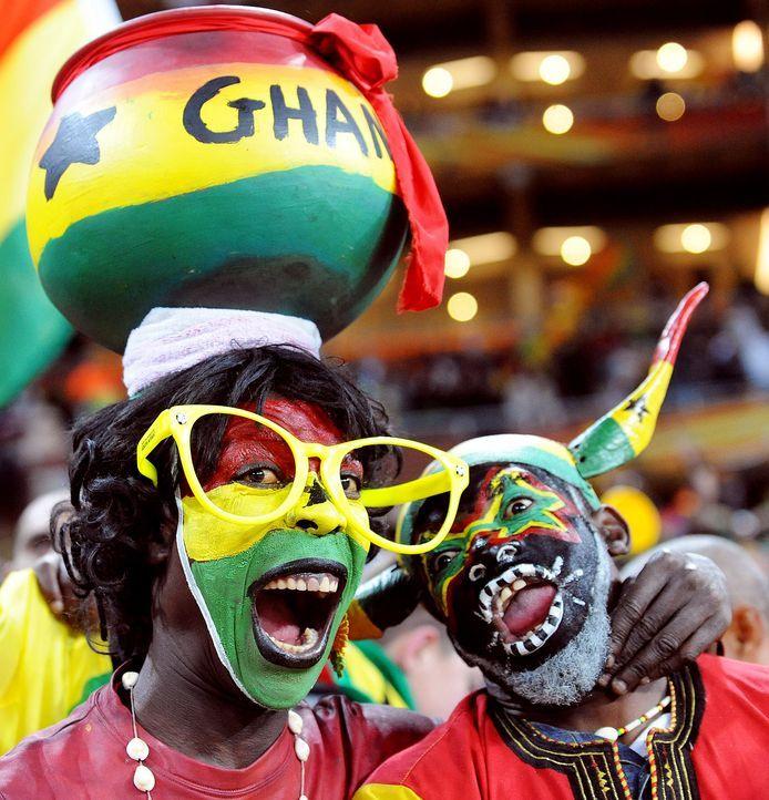 Fussball-Fans-Ghana-100702-dpa - Bildquelle: EPA-dpa