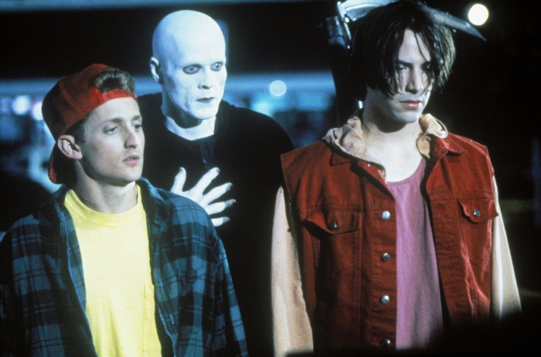 (v.l.n.r.) Bill (Alex Winter); Tod (William Sadler); Ted (Keanu Reeves) - Bildquelle: BetaFilm