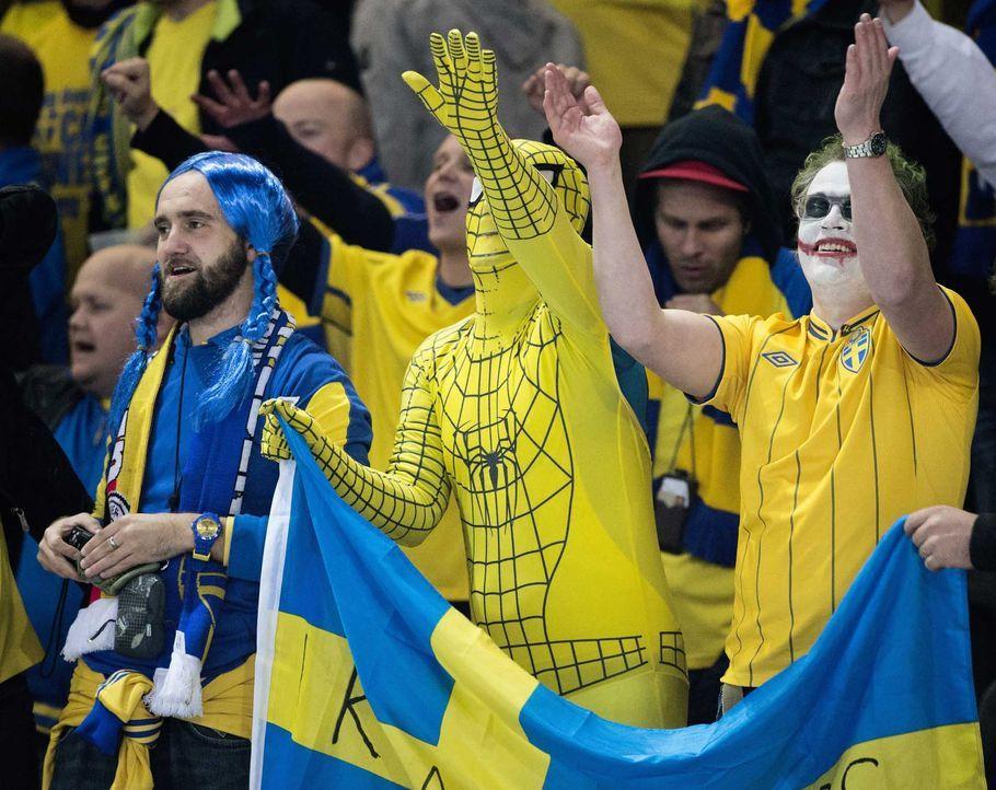 Fußball-Fan-Schweden-060615-2-AFP - Bildquelle: AFP