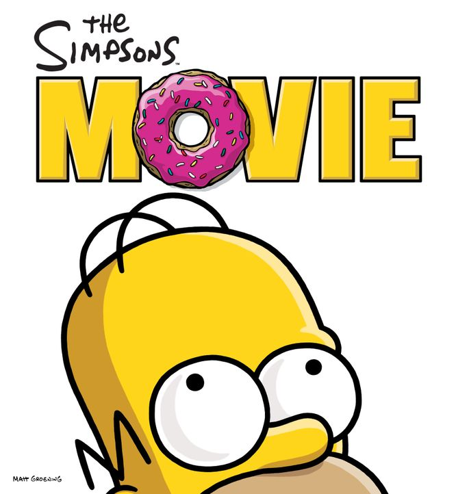 Die Simpsons - Der Film - Plakatmotiv - Bildquelle: 2007 Twentieth Century Fox Film Corporation