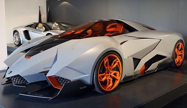 Lamborghini_Egoista_1 - Bildquelle: 2013 Automobili Lamborghini S.p.A