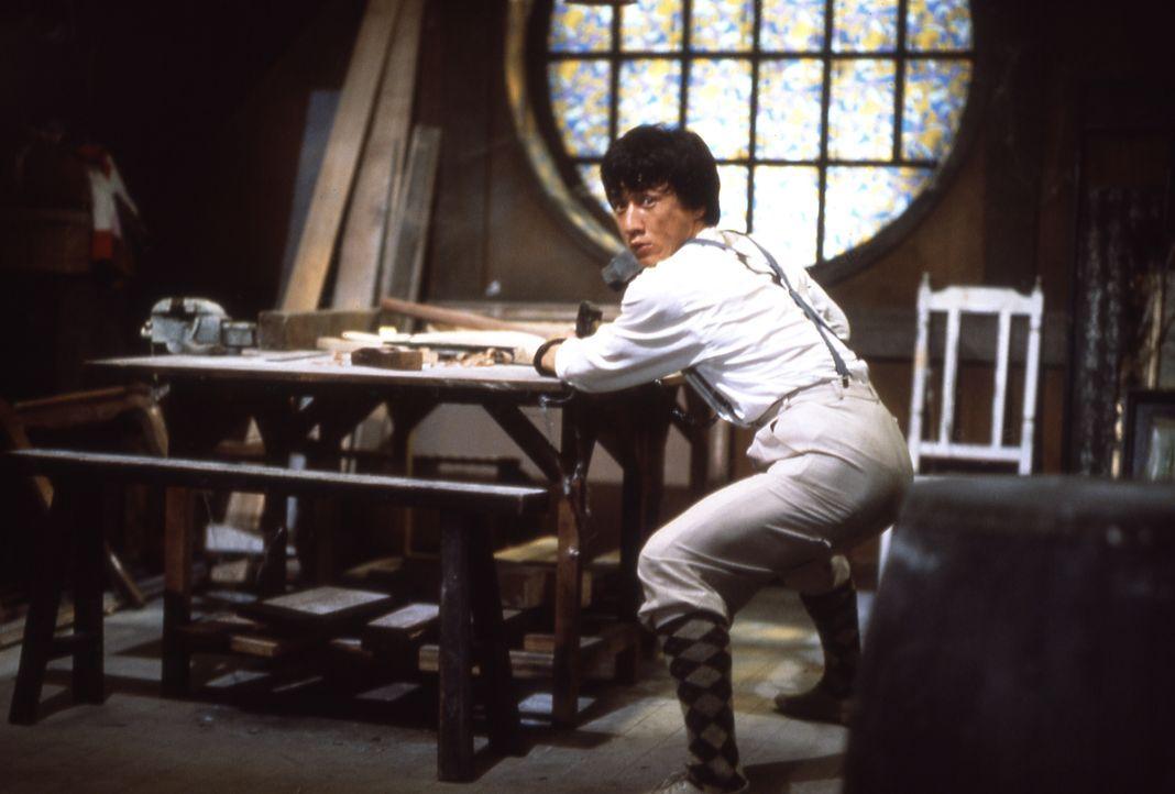 Macht sich daran, die Piratenbande für immer zu zerschlagen: Dragon Ma (Jackie Chan) ... - Bildquelle: Splendid