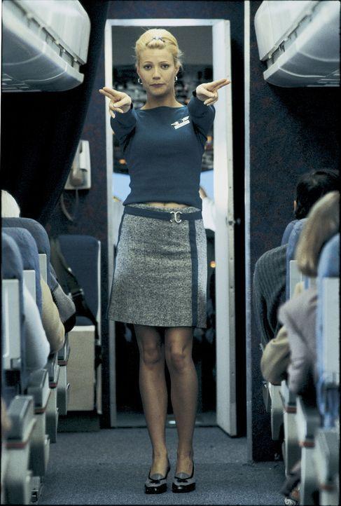 'Die Notausgänge befinden sich' - Donna (Gwyneth Paltrow) möchte als Flugbegleiterin Karriere machen. Als sie sich in den Jurastudenten Ted verlie... - Bildquelle: Miramax Films