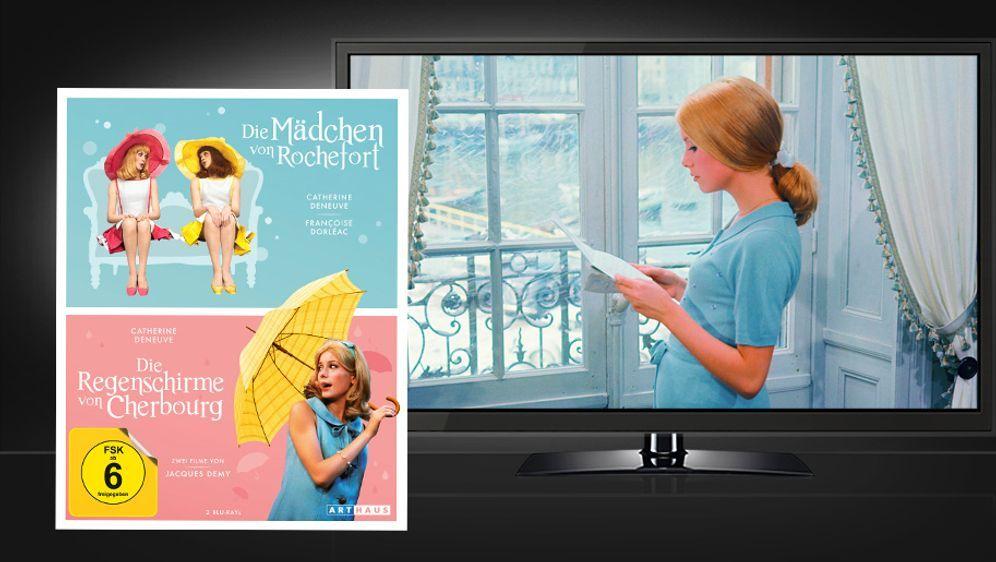 Die Regenschirme von Cherbourg & Die Mädchen von Rochefort (Blu-ray Disc) - Bildquelle: STUDIOCANAL