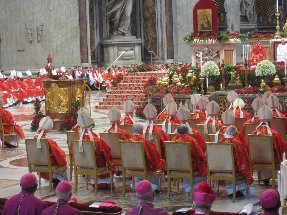 """Wie sieht es """"intra muros"""" im Papst-Palast innerhalb des Vatikans aus? Kurz vor Weihnachten wirft Abenteuer Leben einen erstaunlichen und exklusiven... - Bildquelle: kabel eins"""