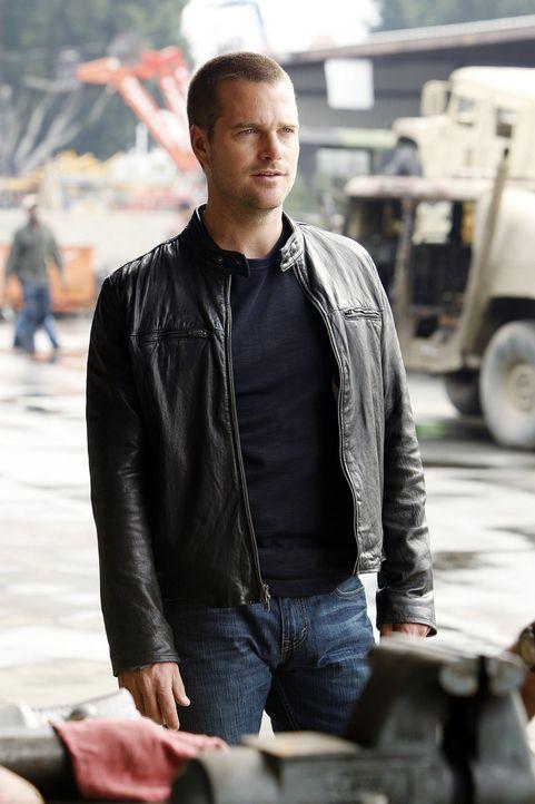 Gemeinsam mit seinen Kollegen ermittelt Callen (Chris O'Donnell) in einem neuen Mordfall ... - Bildquelle: CBS Studios Inc. All Rights Reserved.