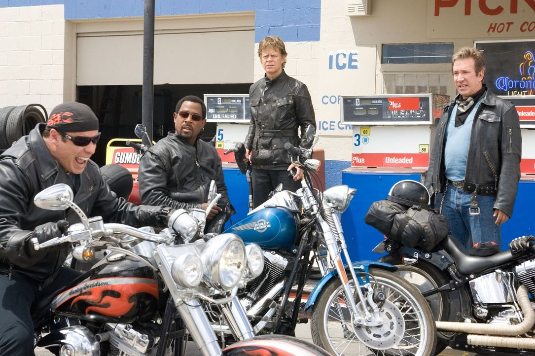 Wollen aus der Midlife Crisis ausbrechen und auf große Fahrt gehen: die Freunde Woody (John Travolta, l.), Dudley (William H. Macy, 2.v.r.), Doug (T... - Bildquelle: Touchstone Pictures.  All rights reserved