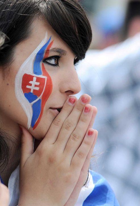 Fußball-Fan-Slowakei-100620-AFP - Bildquelle: AFP