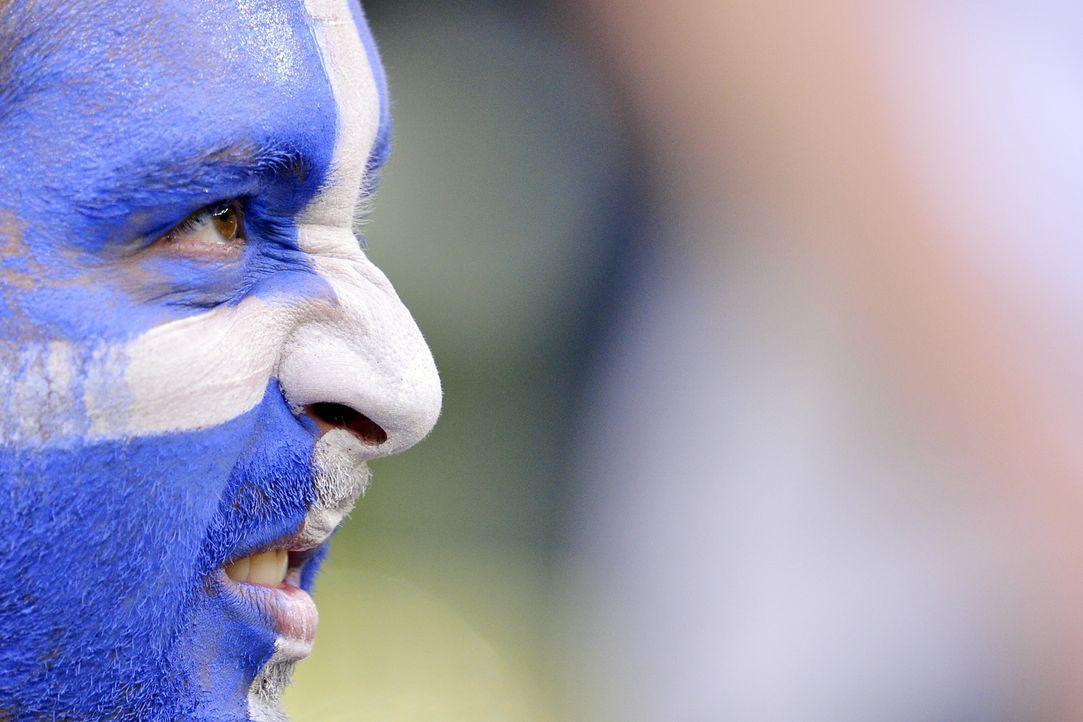 Die griechischen Fans - 3 - Bildquelle: AFP