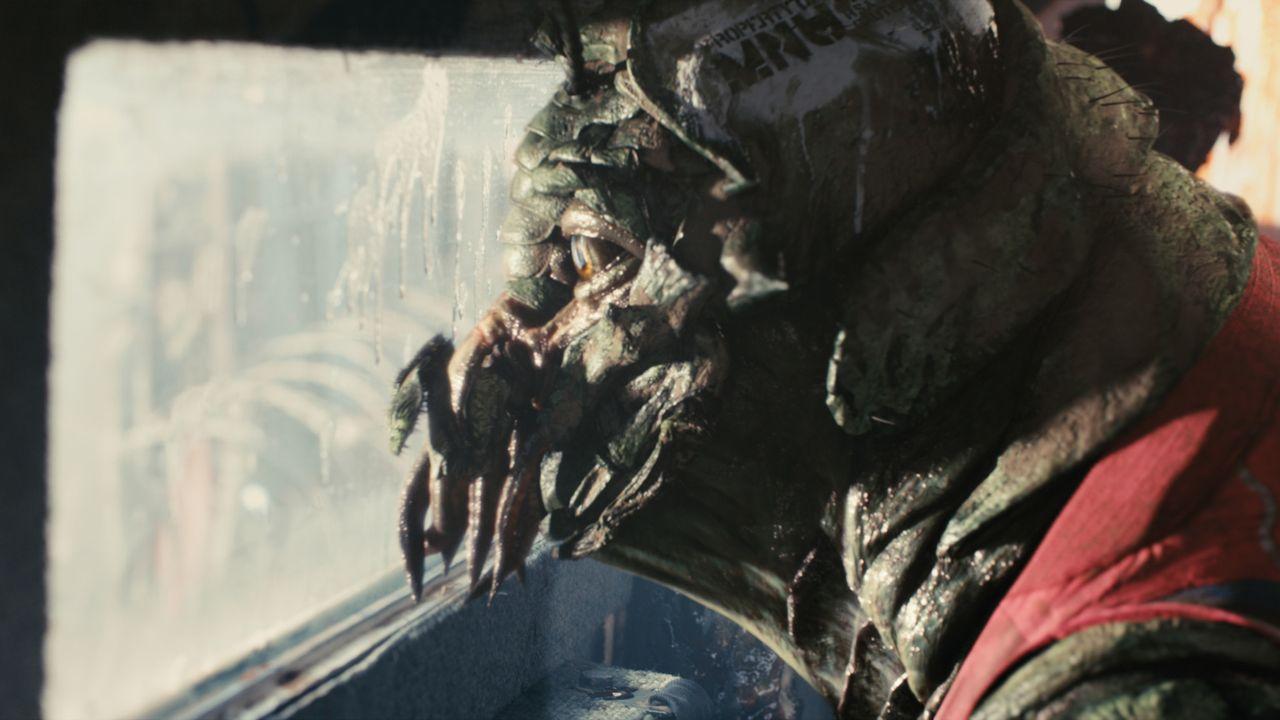 Seit fast 30 Jahren verharren Außerirdische mit ihren Raumschiffen im Luftraum über der Erde. Sie sind von ihrem Heimatplaneten geflohen und wurden... - Bildquelle: 2009 District 9 Ltd. All Rights Reserved.