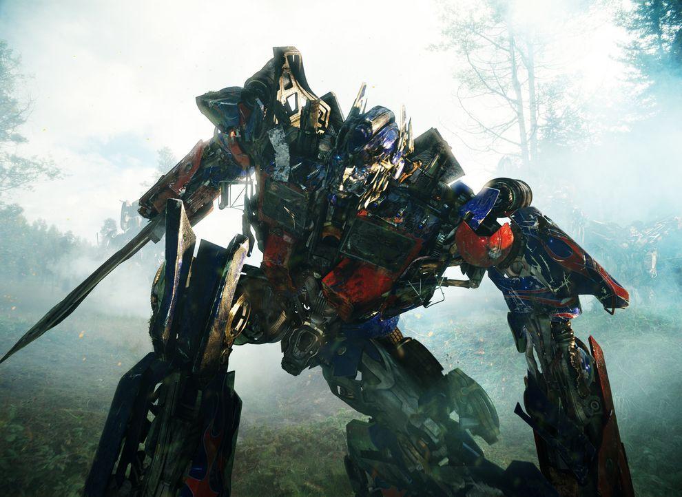 Unglücklicherweise gelingt es Megatron und den Deceptions, Optimus Prime (Bild) tödliche Verletzungen zuzufügen. Da kommt Jetfire eine wahrhaft mens... - Bildquelle: MMIX DW STUDIOS L.L.C. and PARAMOUNT PICTURES CORPORATION. All Rights Reserved.