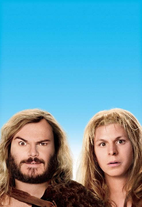 YEAR ONE - ALLER ANFANG IST SCHWER - Artwork - mit Jack Black, l. und Michael Cera, r. - Bildquelle: 2009 Columbia Pictures Industries, Inc. All Rights Reserved.
