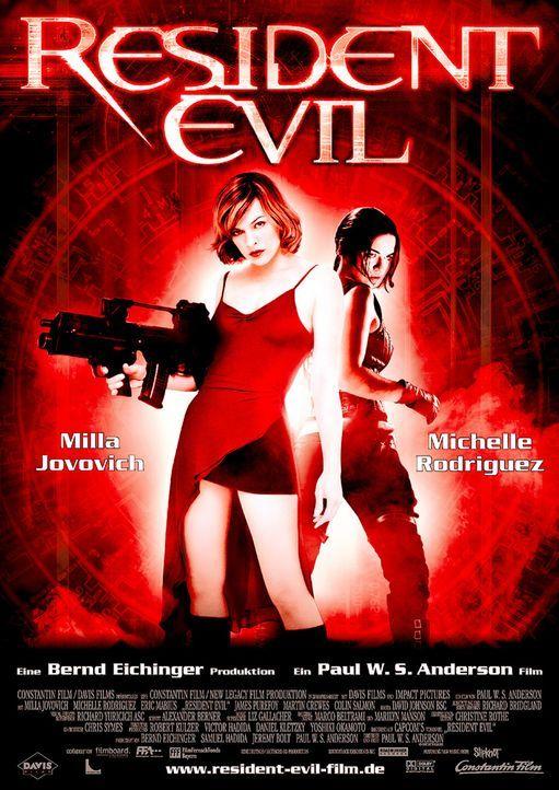 RESIDENT EVIL - Plakatmotiv - Bildquelle: Constantin Film Verleih GmbH