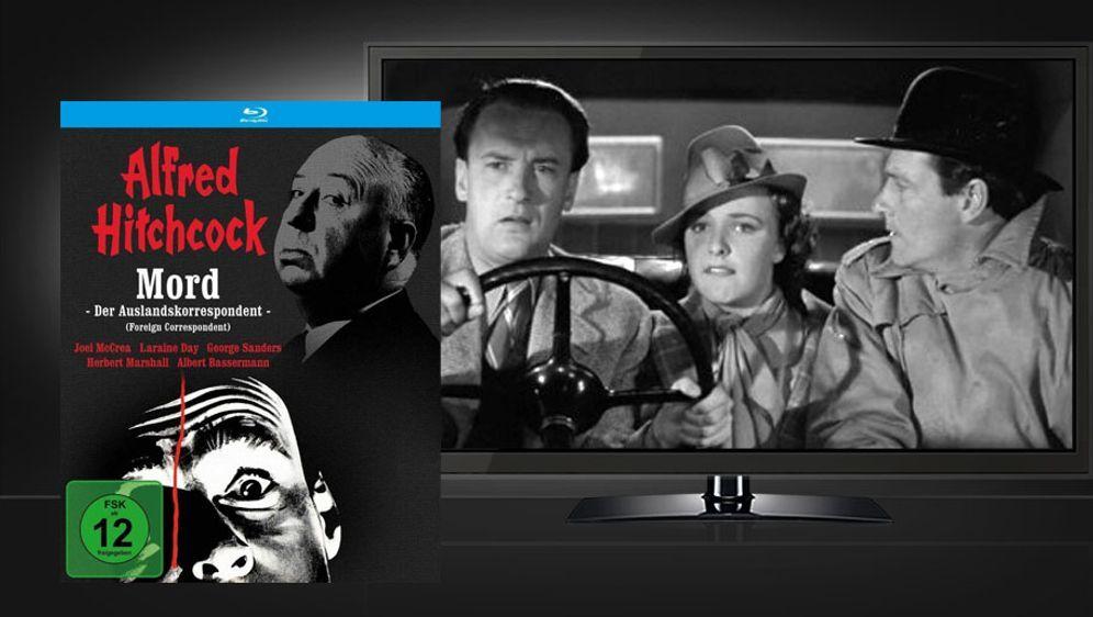 Mord - Der Auslandskorrespondent (Blu-ray Disc) - Bildquelle: Filmjuwelen / Public Domain