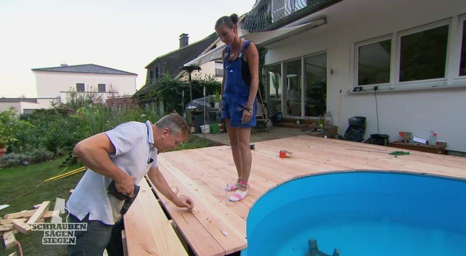 Relativ Preview: Katja und Thilo bauen Terrasse mit Pool! RH92