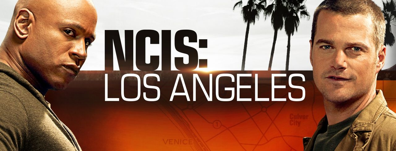 (8. Staffel) - Navy CIS: L.A.: Special Agent G. Callen (Chris O'Donnell, r.) und Special Agent Sam Hanna (LL Cool J, l.) ... - Bildquelle: 2016 CBS Studios Inc. All Rights Reserved.