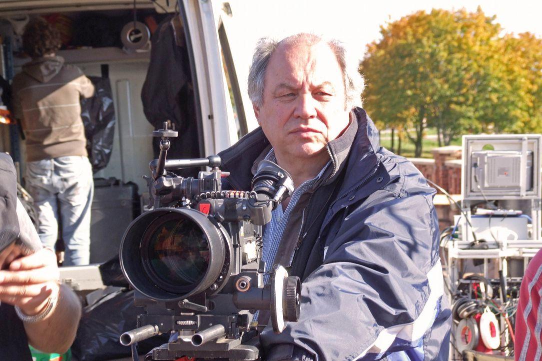 """Während der Dreharbeiten zu """"Die Brücke"""" - Bildquelle: Boris Guderjahn ProSieben"""