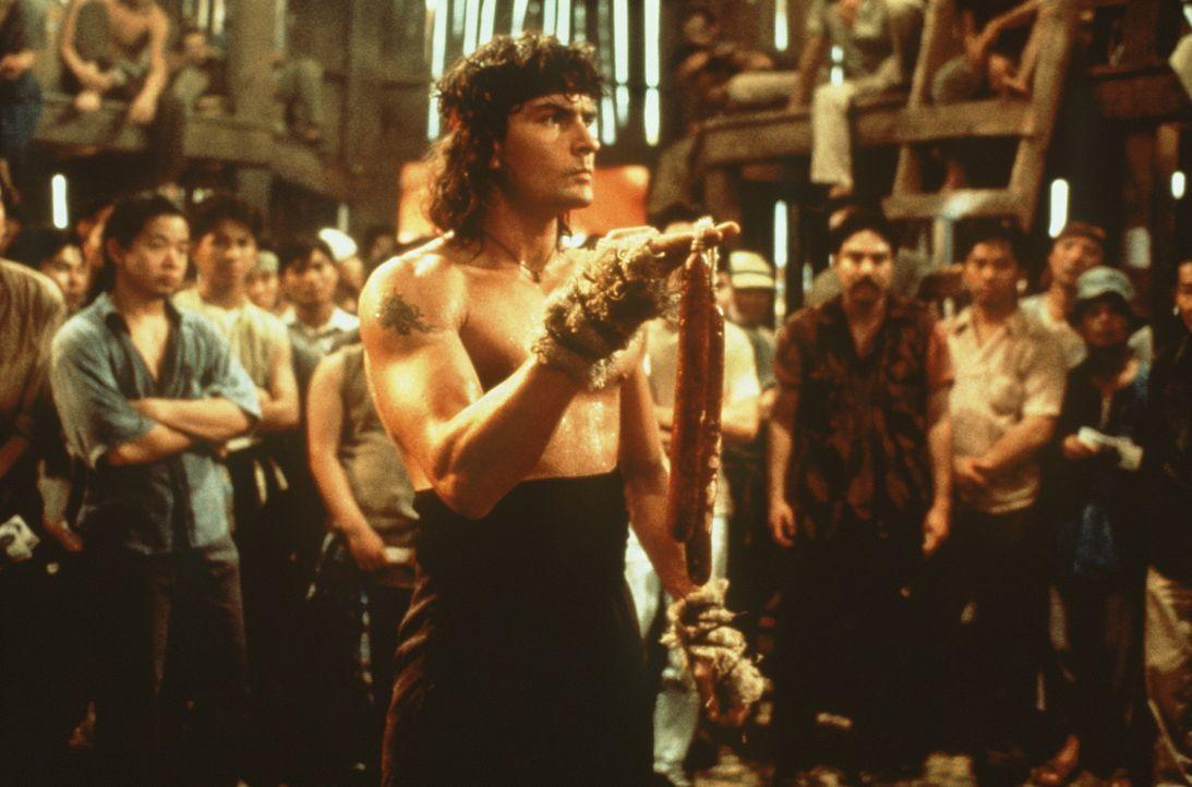 Topper Harley (Charlie Sheen) tut einfach alles, um die Gefangenen zu befreien ... - Bildquelle: 20th Century Fox Film Corporation