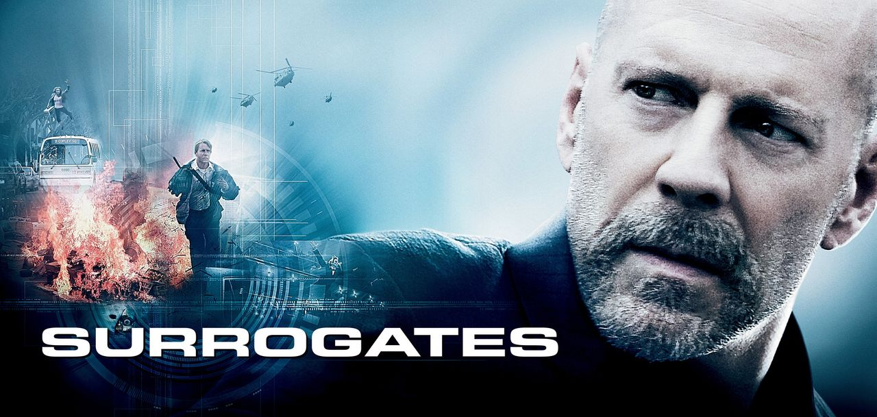 SURROGATES - MEIN ZWEITES ICH - Plakatmotiv - Bildquelle: Stephen Vaughan Touchstone Pictures.  All Rights Reserved