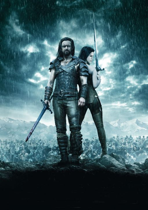 Underworld: Aufstand der Lykaner - Artwork - mit Michael Sheen, l. und Rhona Mitra, r. - Bildquelle: 2009 Lakeshore Entertainment Group LLC. All Rights Reserved.