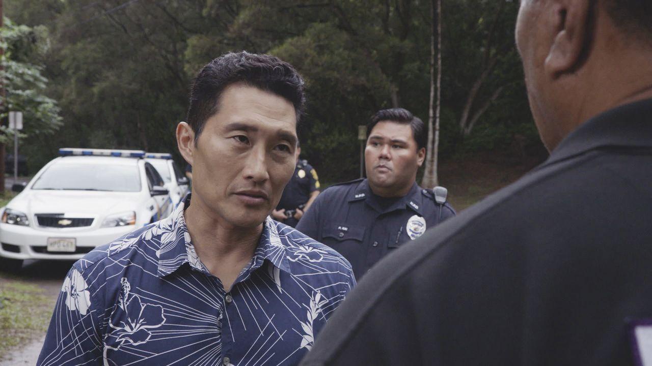 Nachdem ein Verdächtiger in einem Mordfall entflohen ist und auf hoheitlichem Land, das zur hawaiianischen Nation gehört, Asyl erbittet, müssen Chin... - Bildquelle: 2016 CBS Broadcasting, Inc. All Rights Reserved